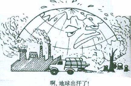 不丢垃圾爱护环境简笔画