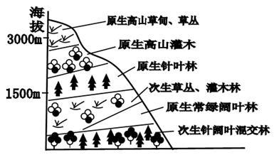 地域分异的基本规律试题列表 高中地理自然环境的整体性和差异性