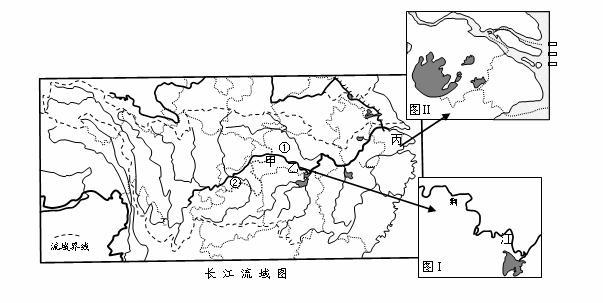 长江地图简笔画手绘