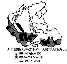 高一人口分布地理笔记_地理人口分布手抄报