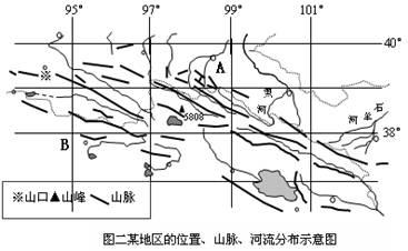 高中地理地球的圈层结构试题列表 高中地理宇宙中的地球 -读我国某区